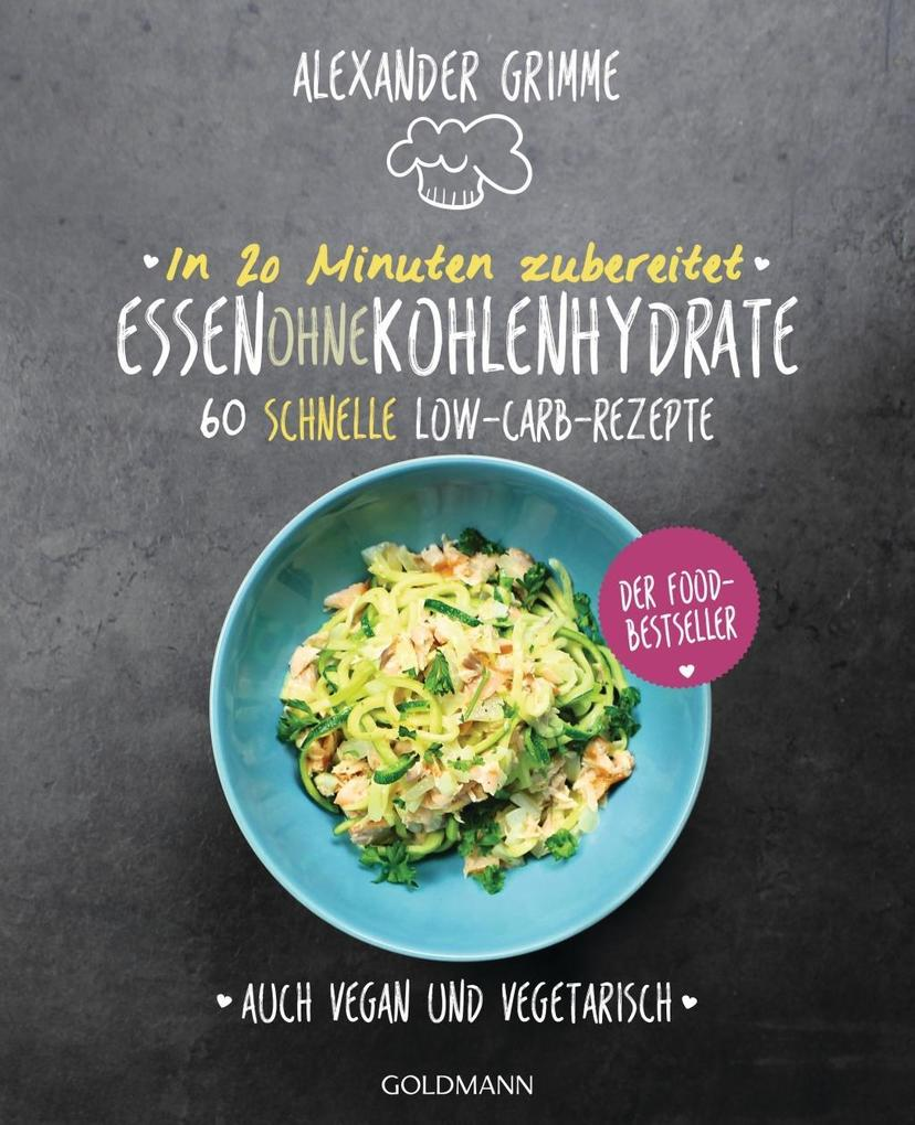 In 20 Minuten zubereitet: Essen ohne Kohlenhydrate als Buch