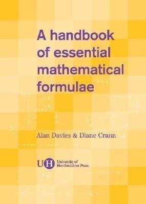 Handbook of Essential Mathematical Formulae als Taschenbuch