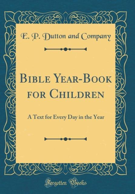 Bible Year-Book for Children