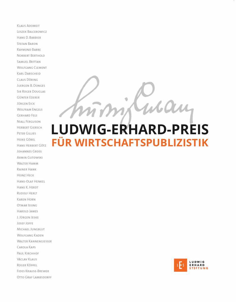 Ludwig-Erhard-Preis für Wirtschaftspublizistik als eBook