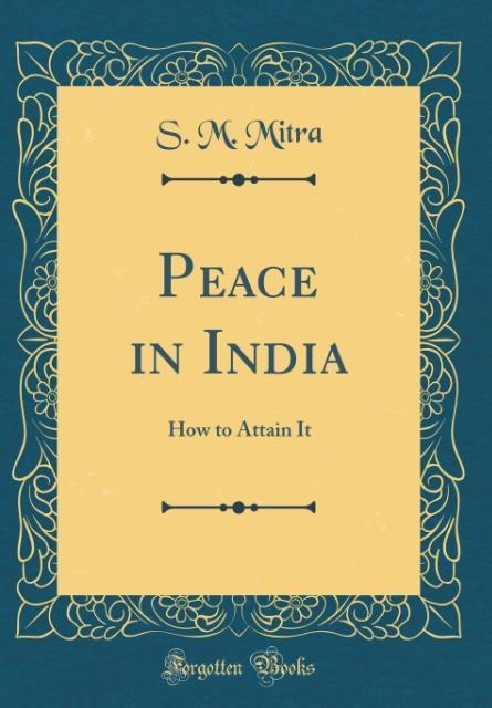 Peace in India