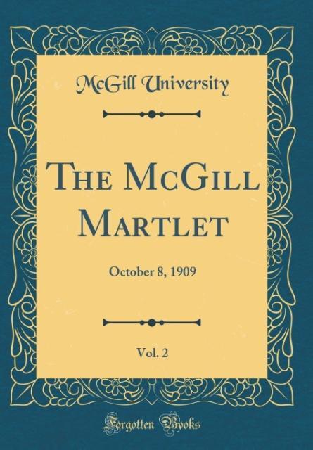 The McGill Martlet, Vol. 2