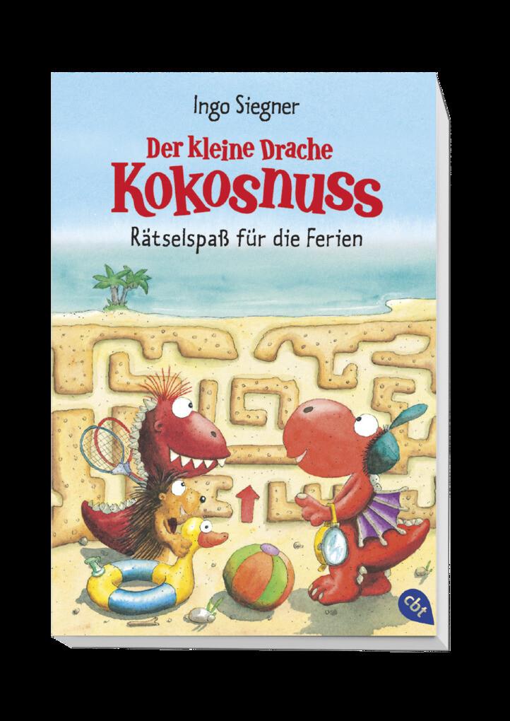 Der Kleine Drache Kokosnuss Rätselspaß Für Die Ferien