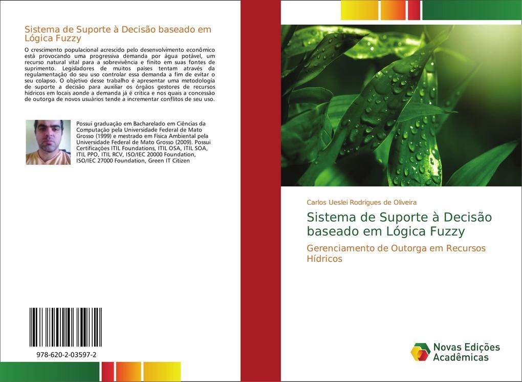 Sistema de Suporte à Decisão baseado em Lógica Fuzzy als Buch von Carlos Ueslei Rodrigues de Oliveira