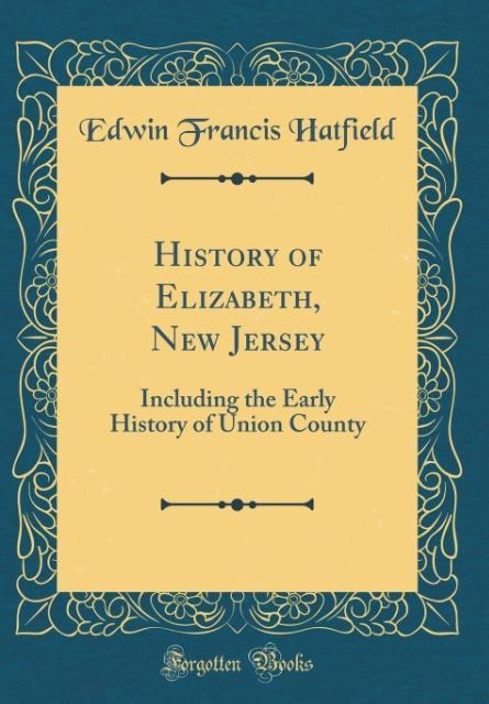 History of Elizabeth, New Jersey