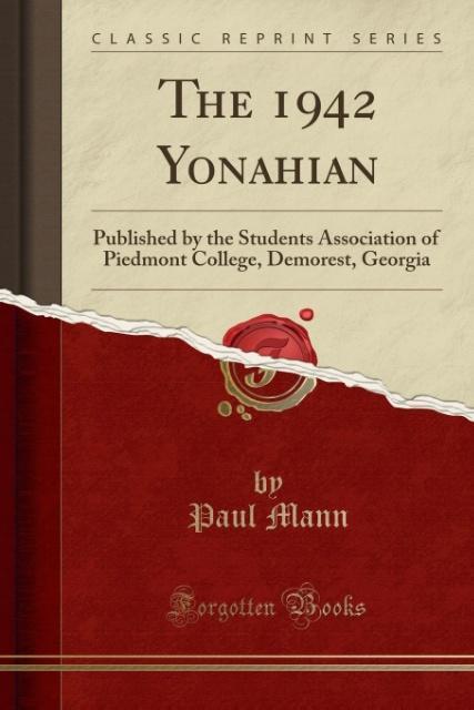 The 1942 Yonahian als Taschenbuch von Paul Mann