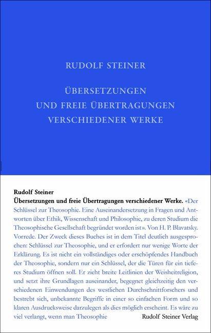 Übersetzungen und freie Übertragungen verschiedener Werke als Buch
