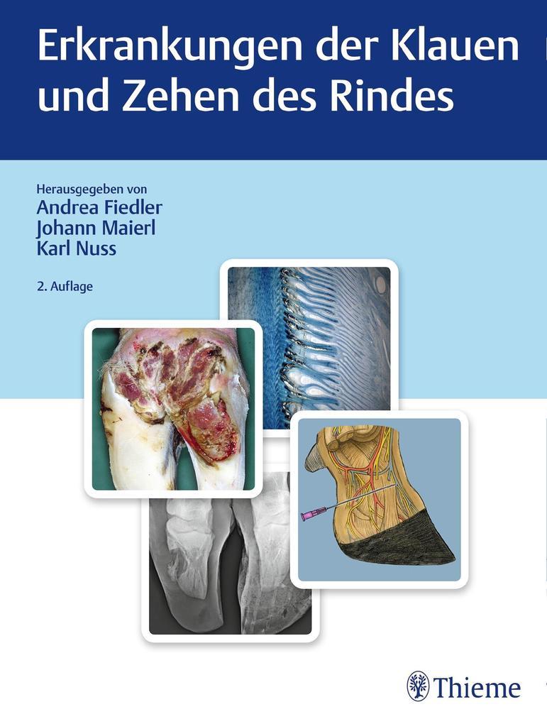 Erkrankungen der Klauen und Zehen des Rindes als Buch