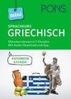 PONS Mini-Sprachkurs Griechisch. Mit Audio-Download