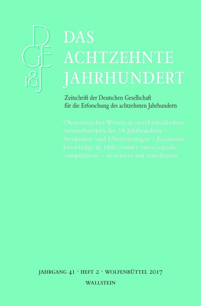 Ökonomisches Wissen in enzyklopädischen Sammelw...