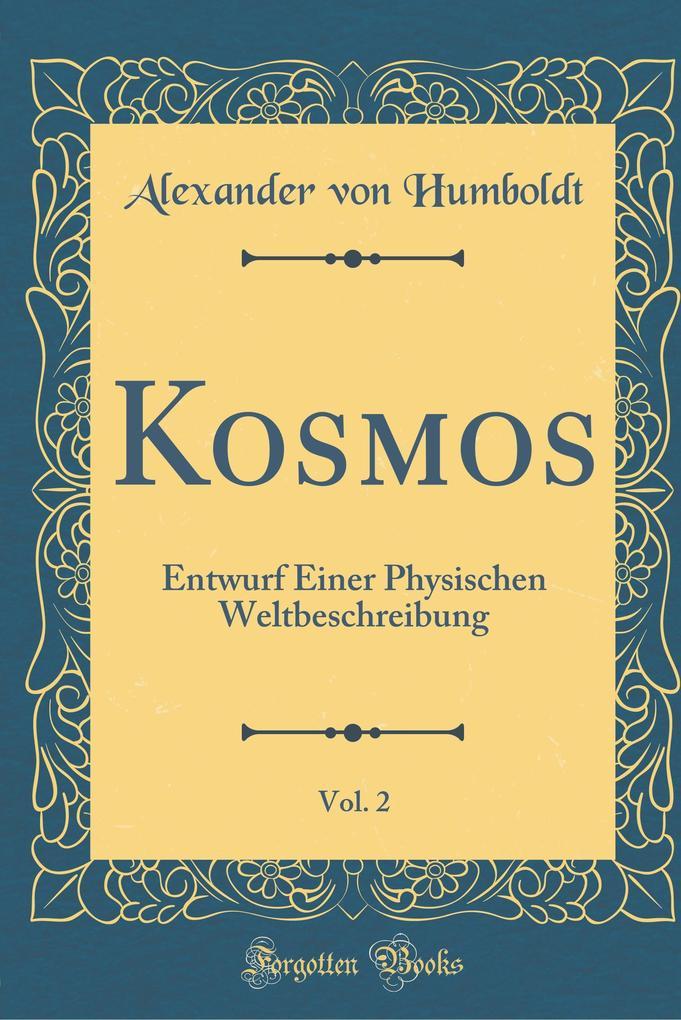 Kosmos, Vol. 2