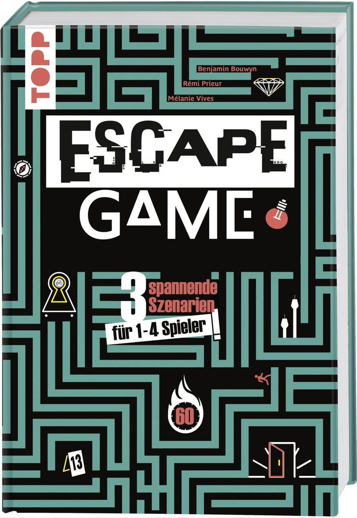 Escape Game als Buch