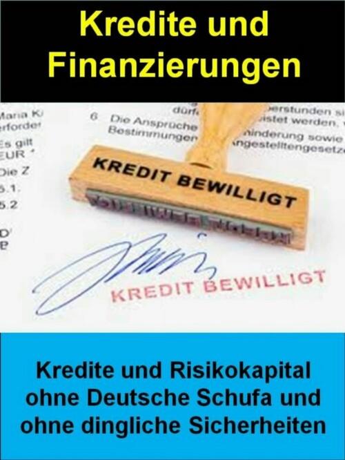 Kredite und Finanzierungen als eBook von Manfre...