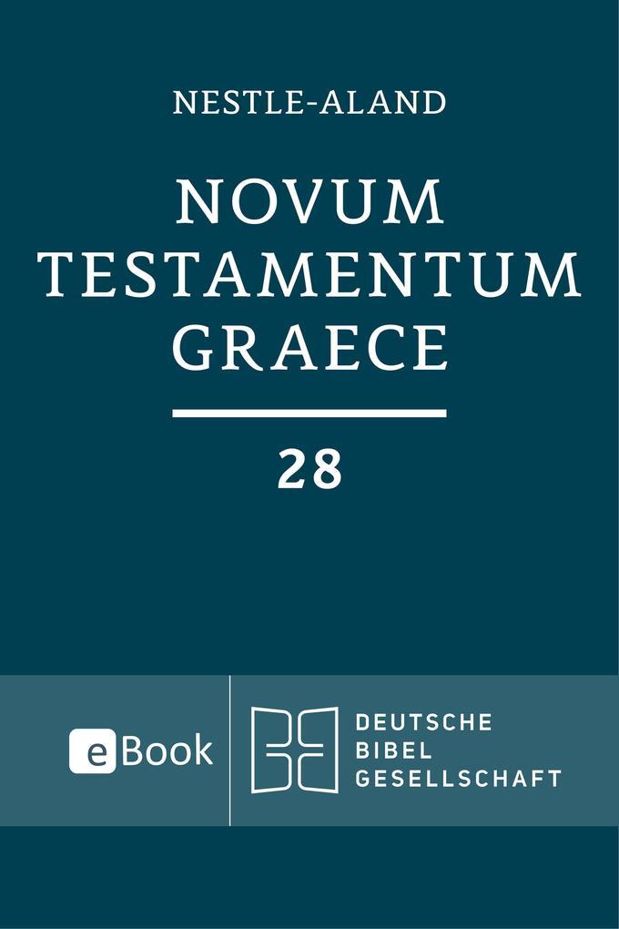 Novum Testamentum Graece (Nestle-Aland) als eBook