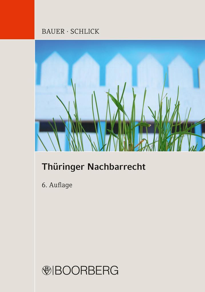 Thüringer Nachbarrecht als eBook