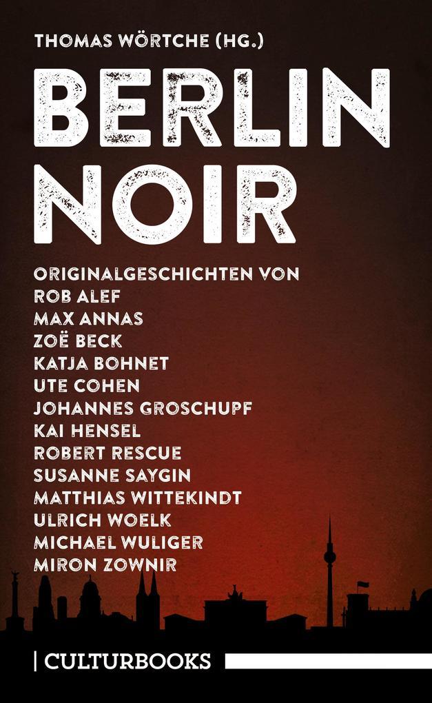 Berlin Noir als Taschenbuch