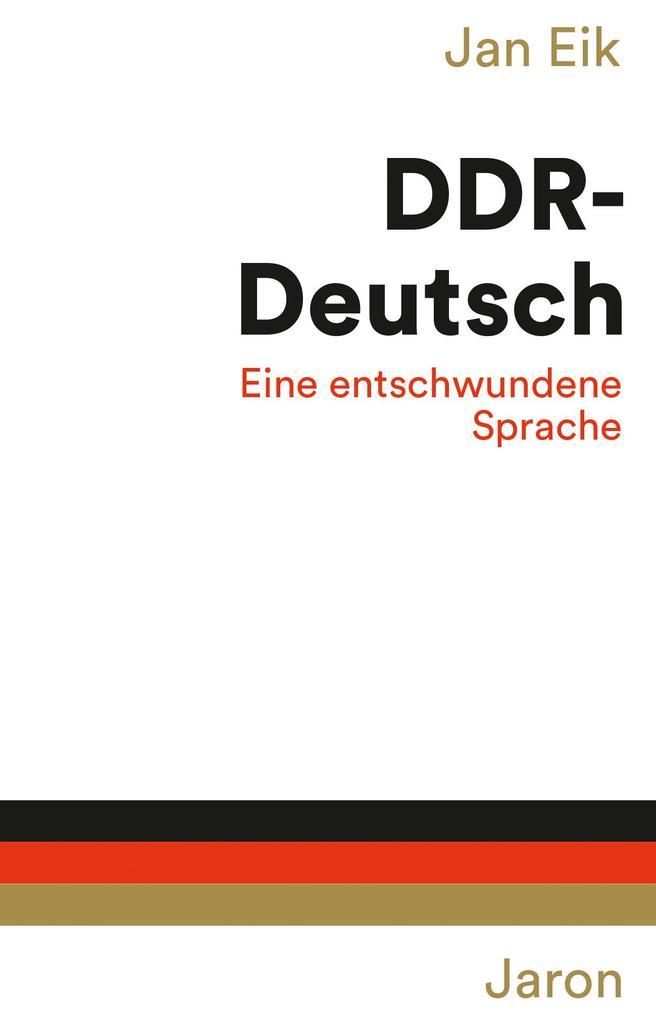 DDR-Deutsch als Buch