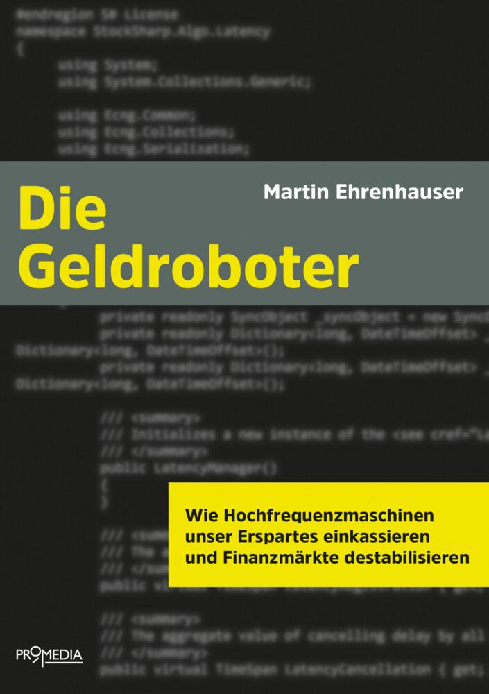 Die Geldroboter als Buch von Martin Ehrenhauser