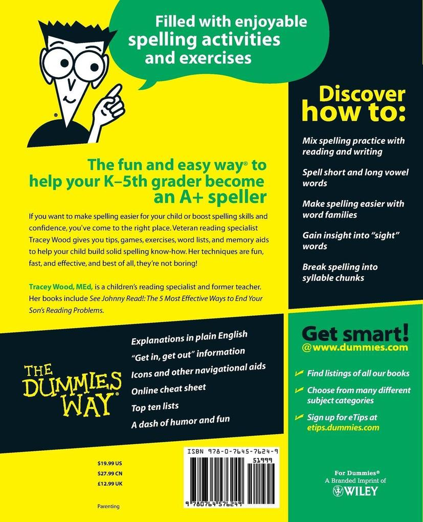 Teaching Kids to Spell for Dummies als Taschenbuch