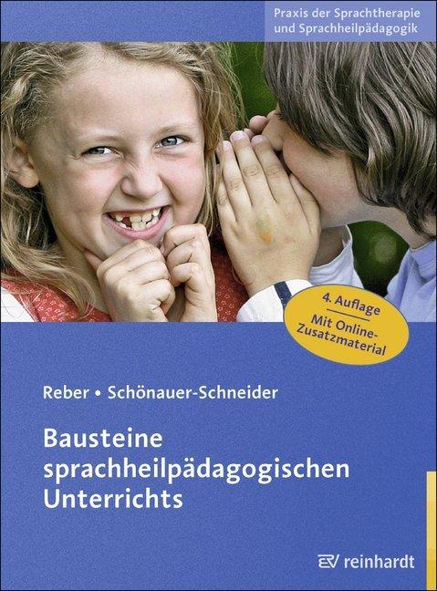 Bausteine sprachheilpädagogischen Unterrichts als Buch (kartoniert)