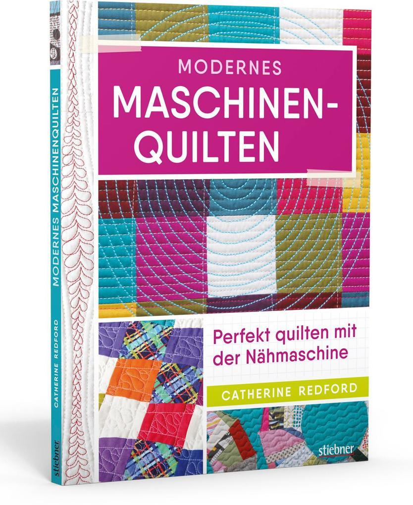 Modernes Maschinen-Quilten als Buch (kartoniert)