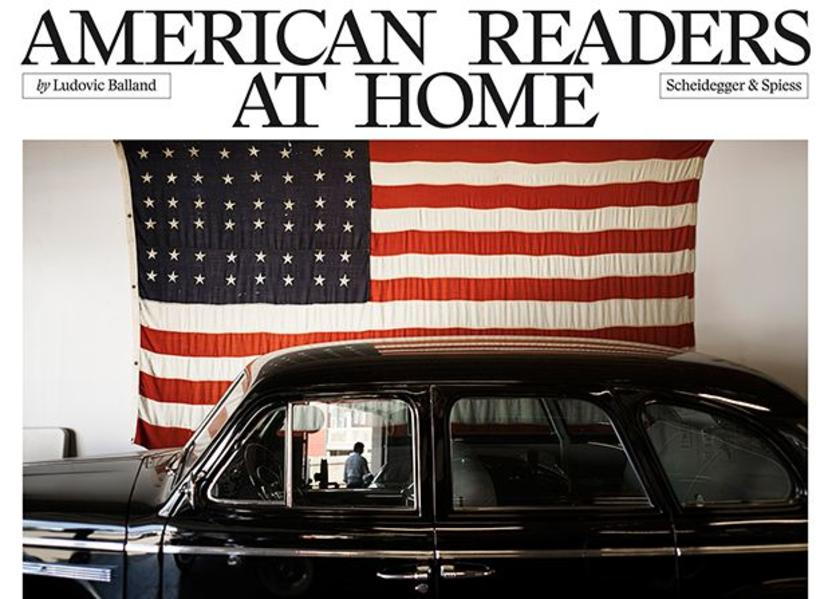 American Readers at Home als Buch von Ludovic Balland