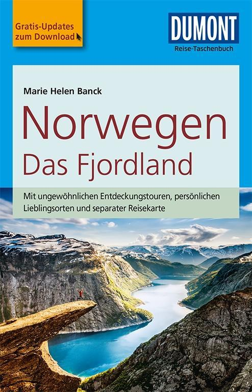 DuMont Reise-Taschenbuch Reiseführer Norwegen, Das Fjordland als Taschenbuch von Marie H. Banck