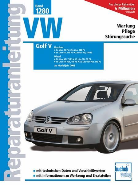 VW Golf V als Buch (kartoniert)