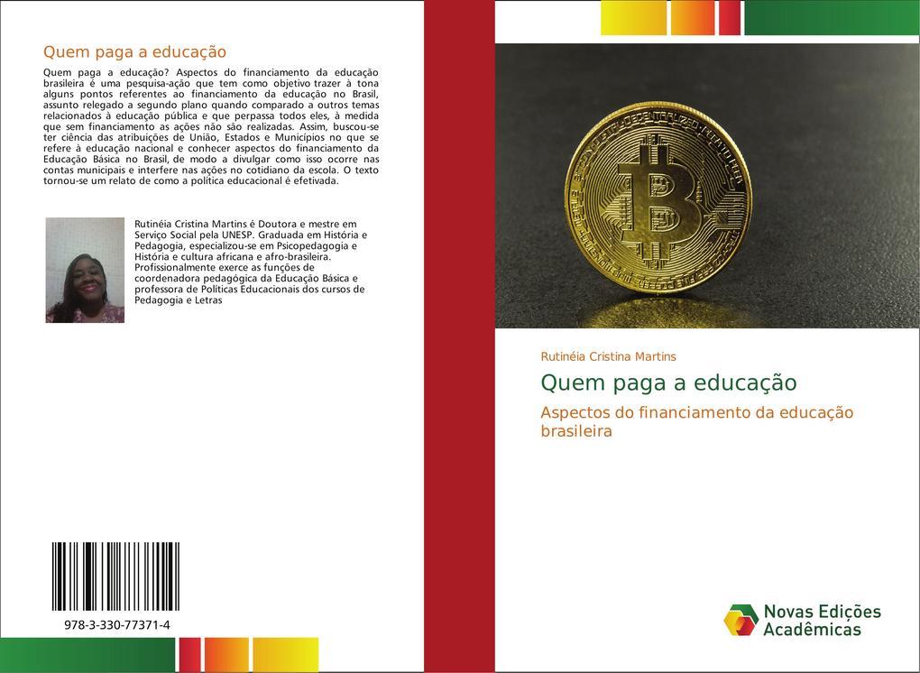 Quem paga a educação als Buch von Rutinéia Cristina Martins - Novas Edições Acadêmicas