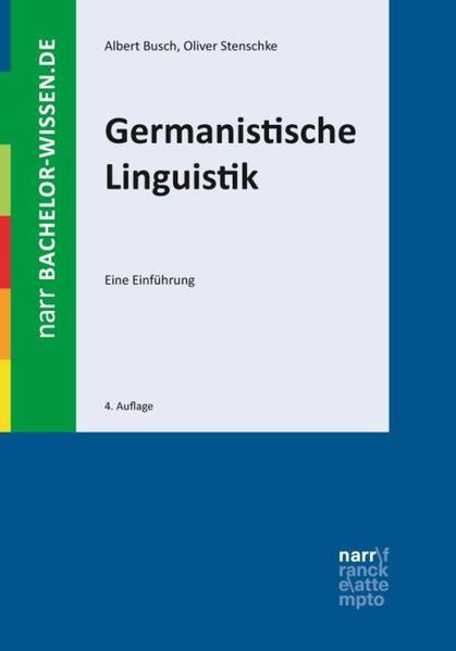 Germanistische Linguistik als Buch