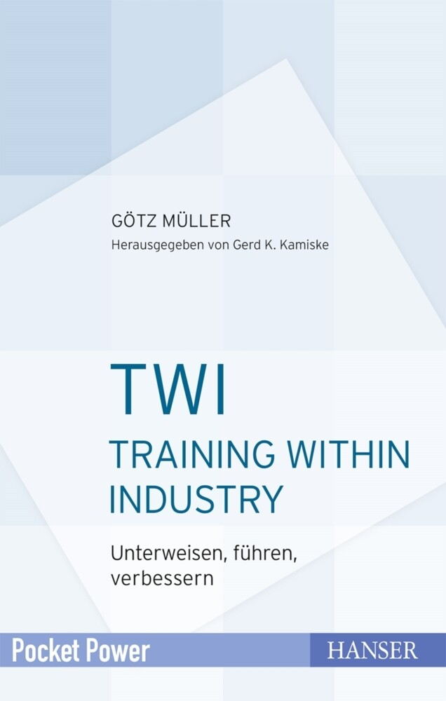TWI - Training Within Industry als Buch