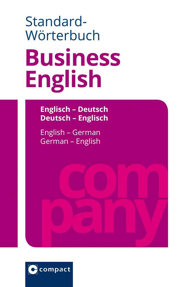 Standard-Wörterbuch Business English als Buch (gebunden)