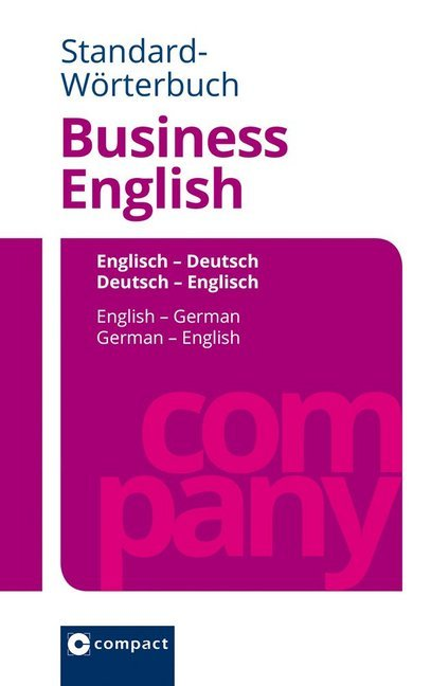 Standard-Wörterbuch Business English als Buch