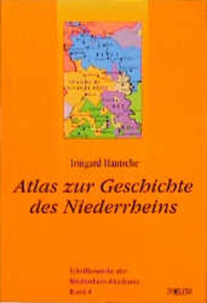 Atlas zur Geschichte des Niederrheins als Buch (kartoniert)