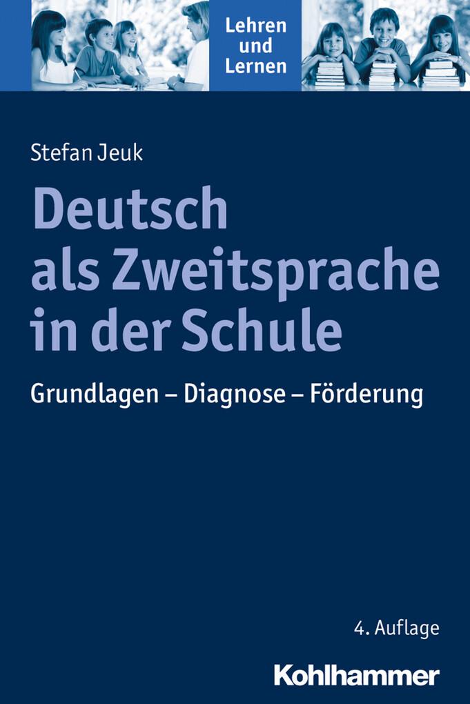 Deutsch als Zweitsprache in der Schule als eBook