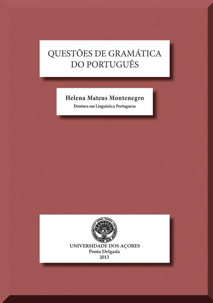 Questões de Gramática do Português als Taschenb...