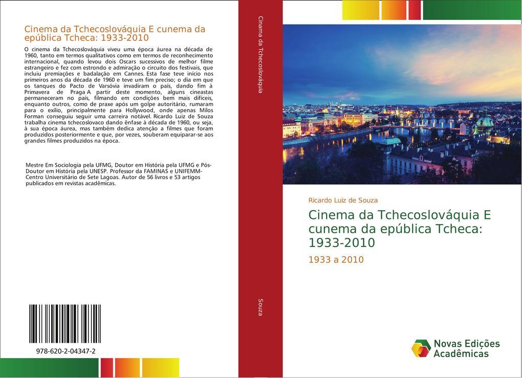 Cinema da Tchecoslováquia E cunema da epública Tcheca: 1933-2010 als Buch von Ricardo Luiz de Souza
