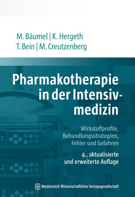Pharmakotherapie in der Intensivmedizin als Buch (kartoniert)