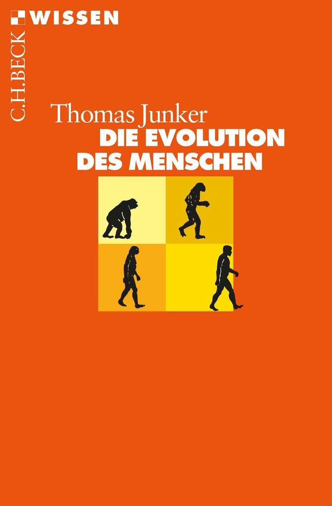 Die Evolution des Menschen als Taschenbuch