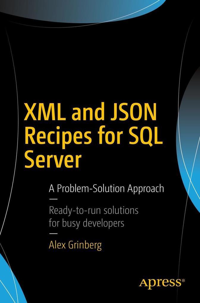 XML and JSON Recipes for SQL Server als eBook v...