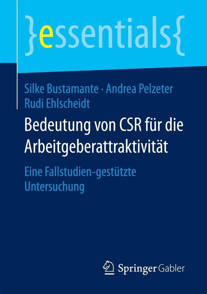 Bedeutung von CSR für die Arbeitgeberattraktivität als eBook pdf