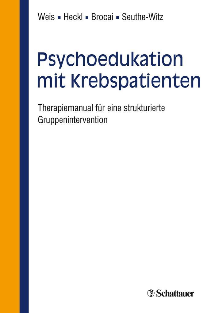 Psychoedukation mit Krebspatienten als eBook vo...