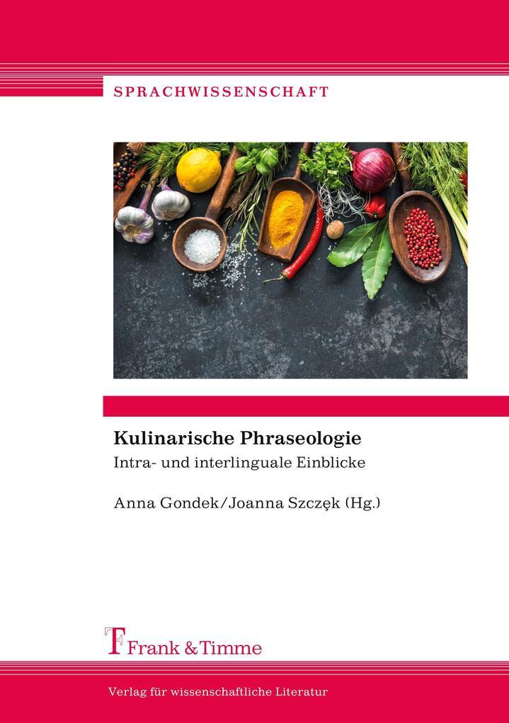 Kulinarische Phraseologie als Buch