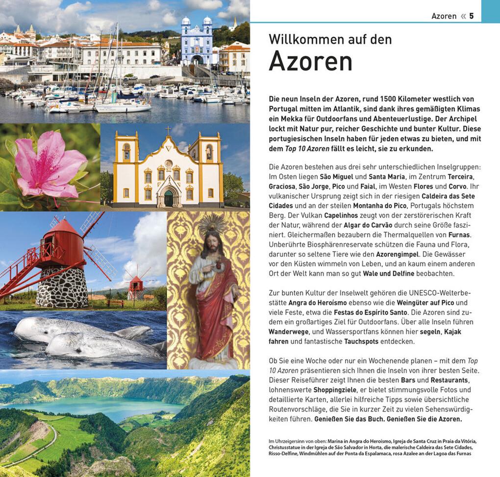 Azoren Karte Weltatlas.Top 10 Reiseführer Azoren Buch Portofrei