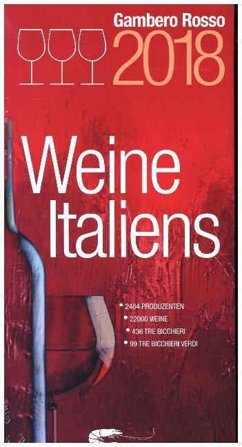 Weine Italiens 2018 als Buch