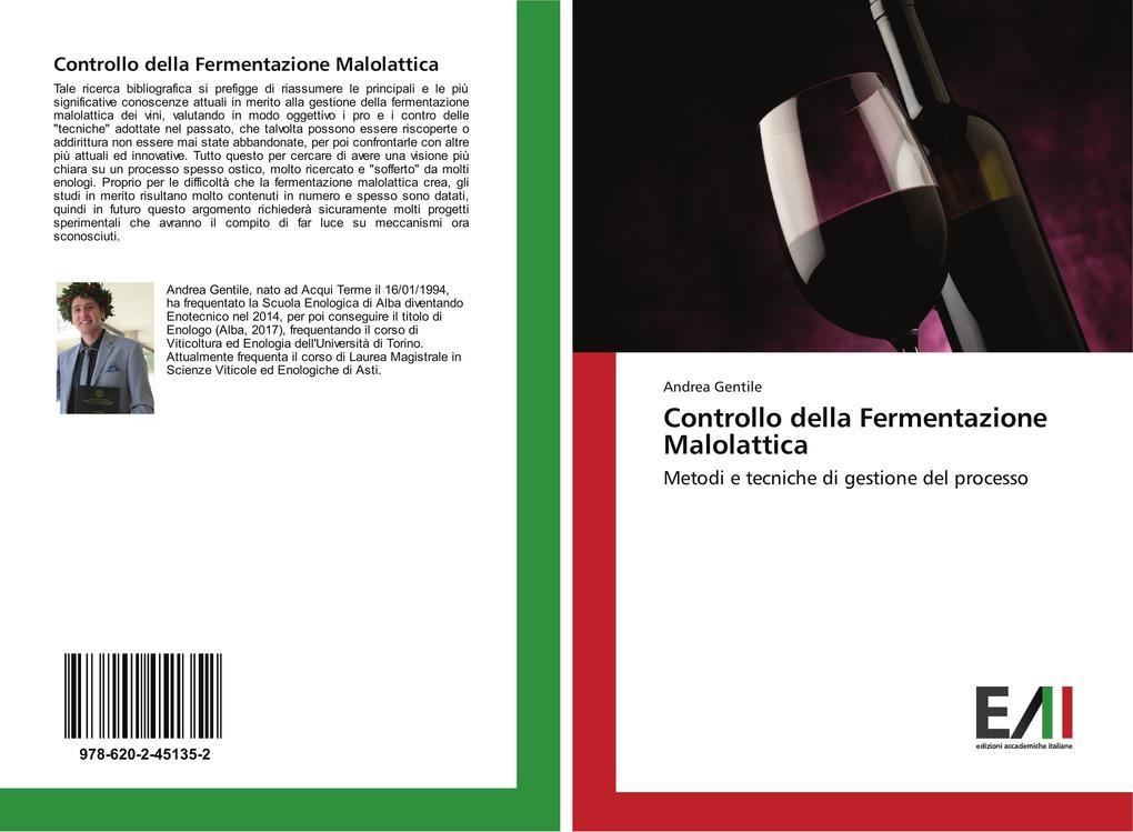 Controllo della Fermentazione Malolattica als Buch