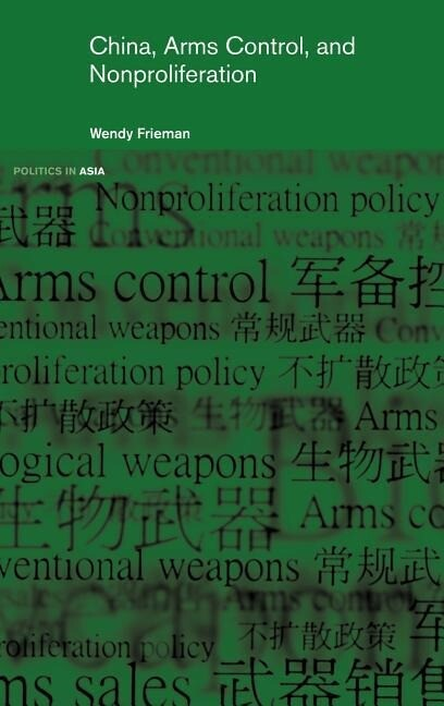 China, Arms Control, and Non-Proliferation als Buch (gebunden)