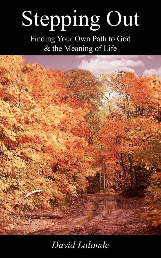 Stepping Out: Finding Your Own Path to God & the Meaning of Life als Taschenbuch
