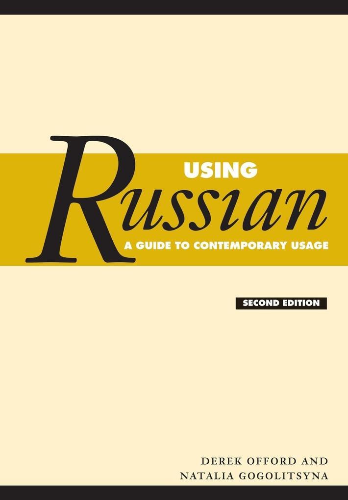 Using Russian als Buch (kartoniert)