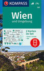 KOMPASS Wanderkarte Wien und Umgebung